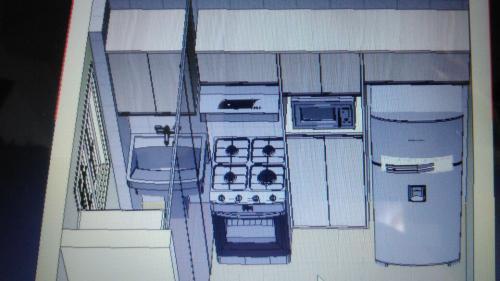Projeto-3d de Cozinha