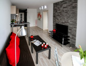 Apartamento Pequeno Projeto Decorado Sala