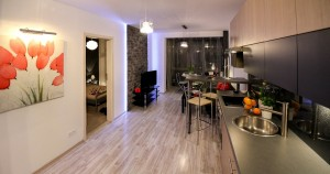 Apartamento Pequeno Projeto Decorado Cozinha