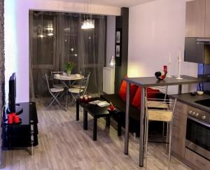 apartamento pequeno cozinha compacta