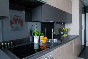 apartamento pequeno cozinha modulada