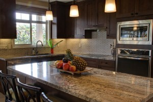 cozinha planejada rustica madeira
