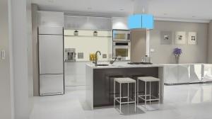 projeto acabamento cozinha modulada